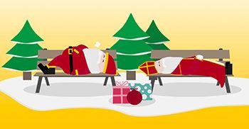 DHL Kerst Sinterklaas